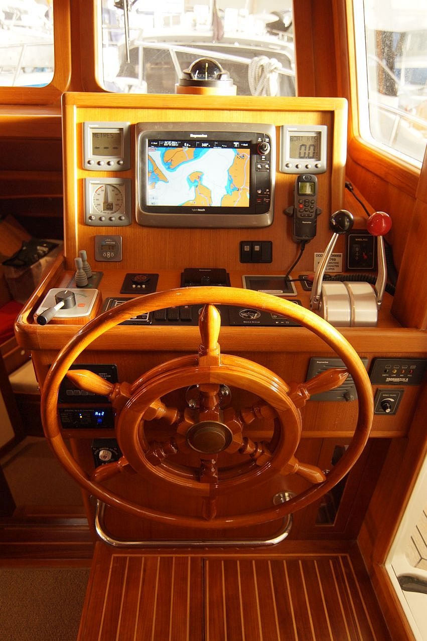 Trawler Engine Room: A Perfect Family Cruiser Aft-cabin At An Affordable Price