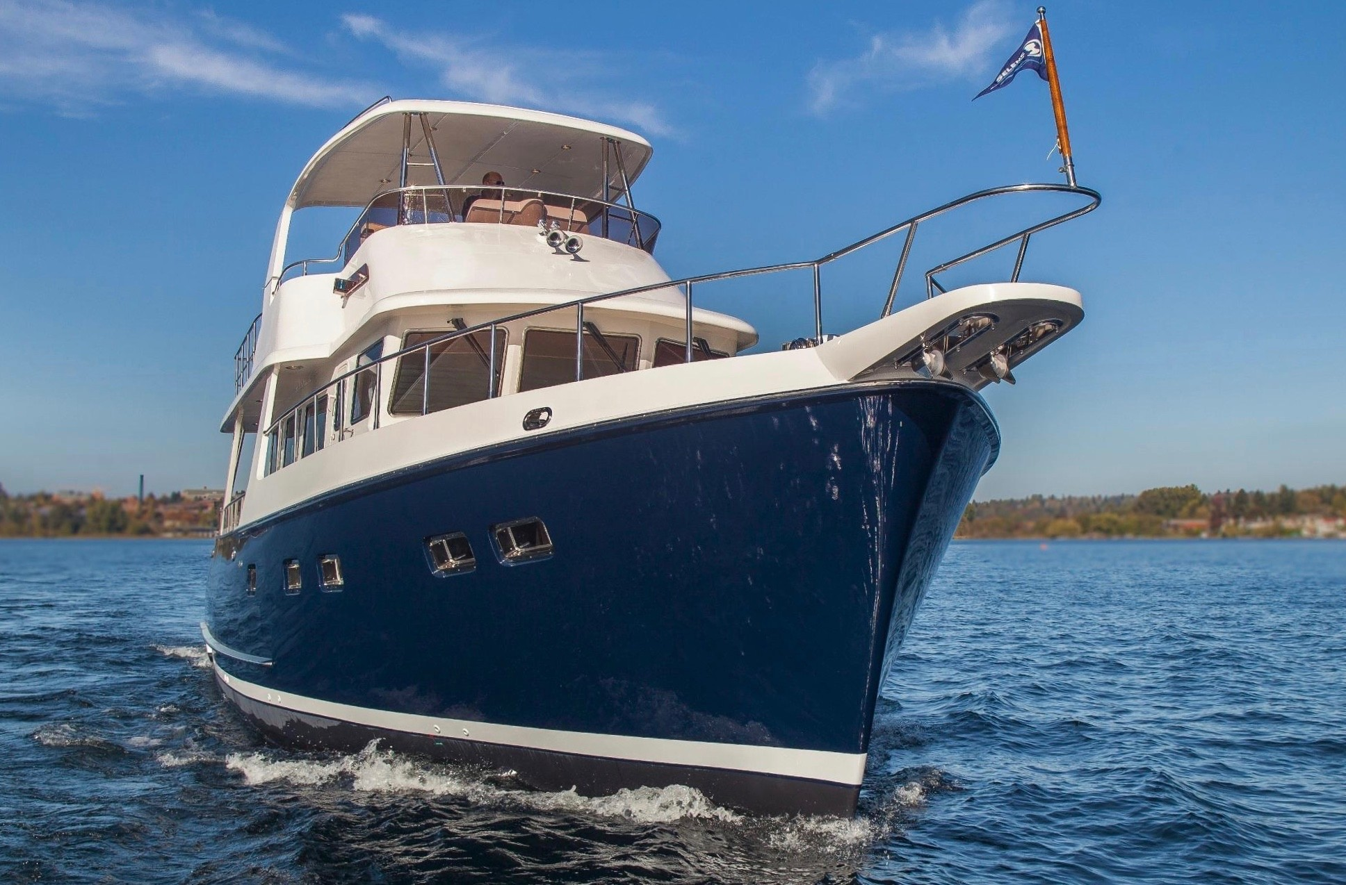 Selene 50 Voyager Sedan - A well-equipped yacht bound for Exotic Places