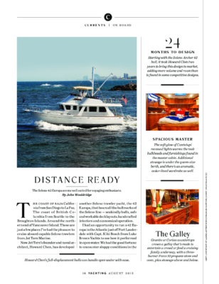 Selene 42 Europa Yachting-Magazine-Article-July-2015