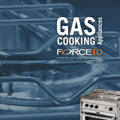 Force 10 gas-cooking appliances catalog