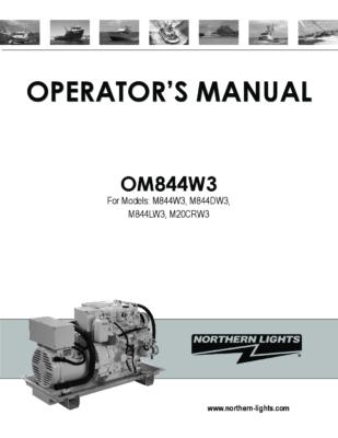 Generator Northern Lights Manual