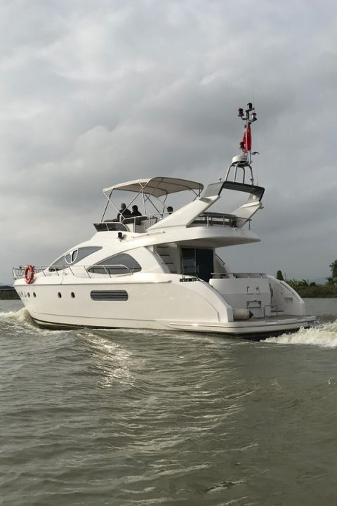 Trawlers and ocean going motor yachts designed for passage making